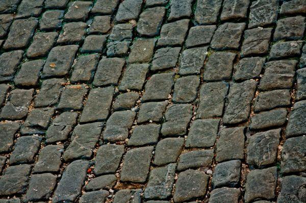 Brick Road Texture photo