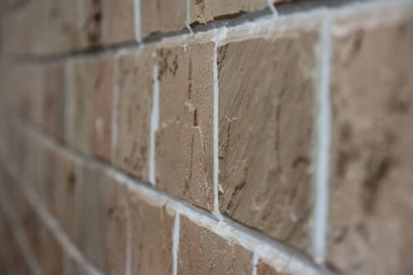 Brick Wall Closeup photo