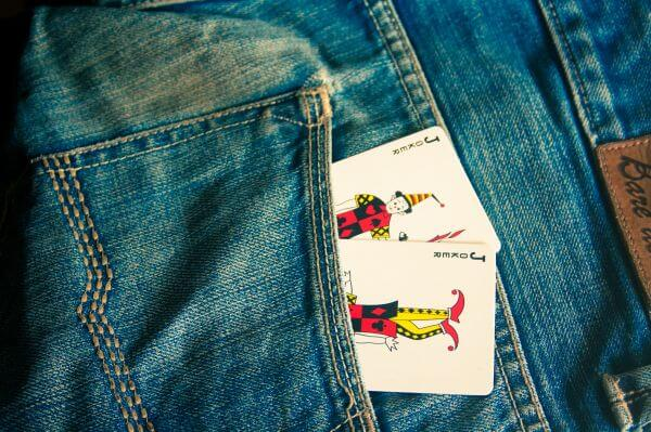 Joker Cards In Pocket photo