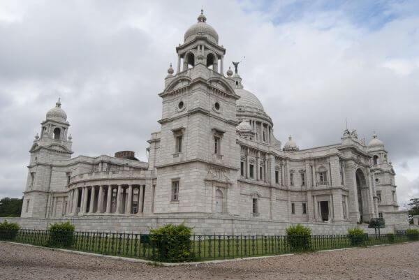 Victorial Memorial Side View Calcutta photo