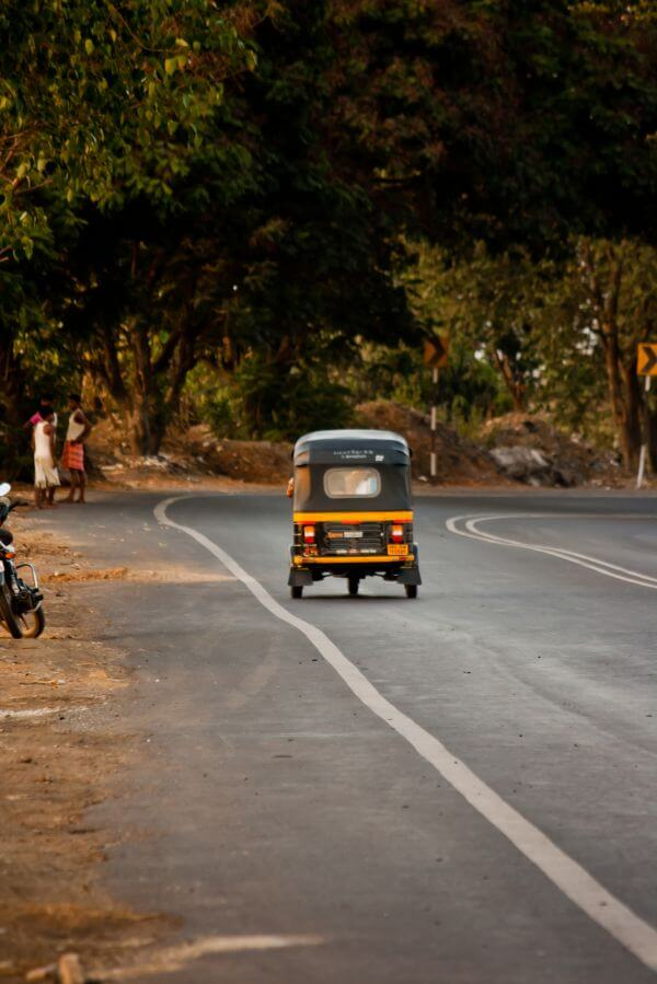 Auto Rickshaw India photo