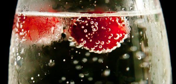 Cherry Fizzy Drink photo