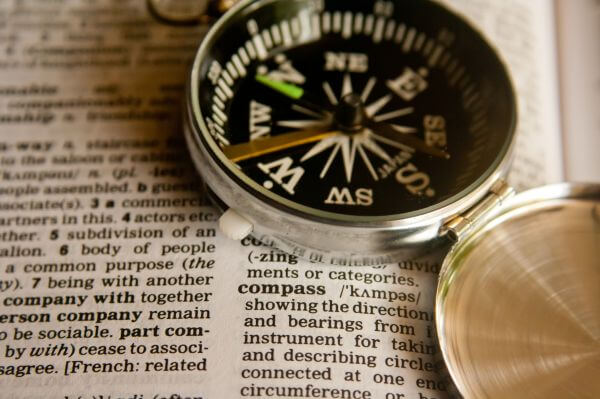Compass Dictionary Word photo
