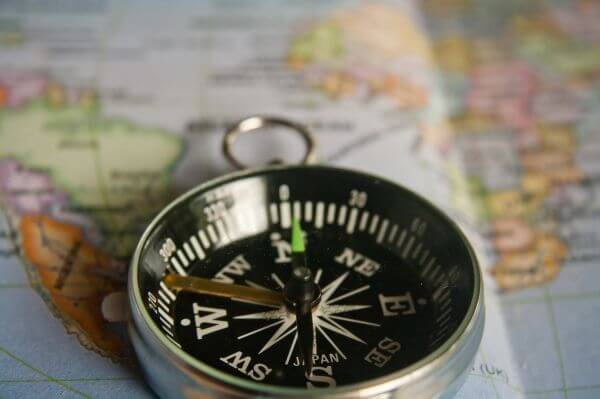 Compass Map photo