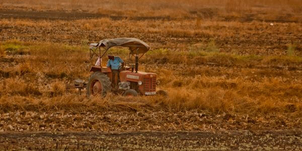 Farmer Tractor photo