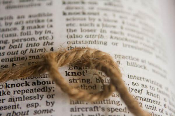 Knot Dictionary photo