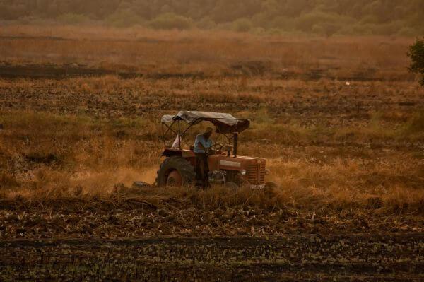 Tractor Farming India photo