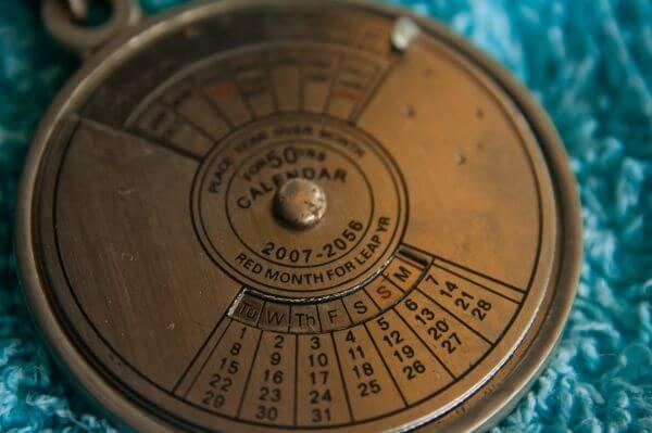 Mechanical Calendar photo