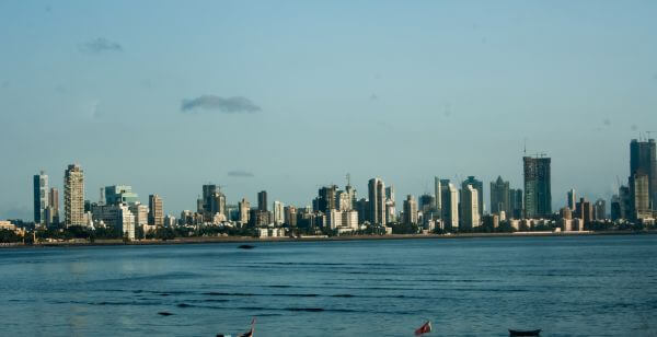 Mumbai India Skyline photo