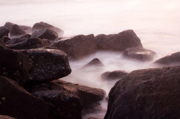 Rocks Waves photo