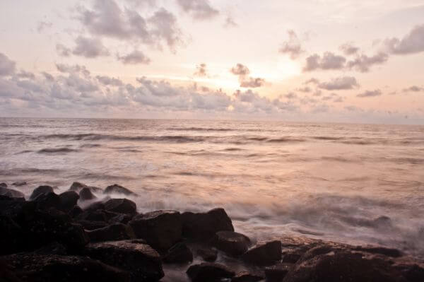 Sea Waves Rocks Sea photo
