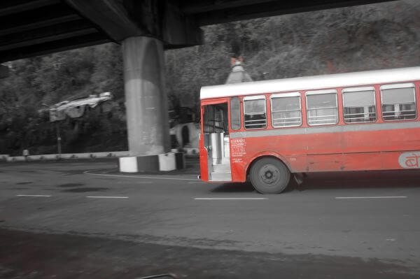 Bus Old photo