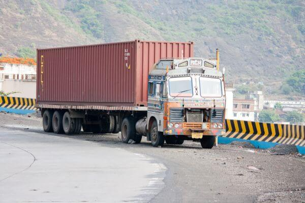 Container Truck Transport photo