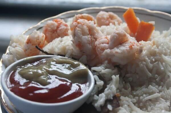 Food Plate Rice photo