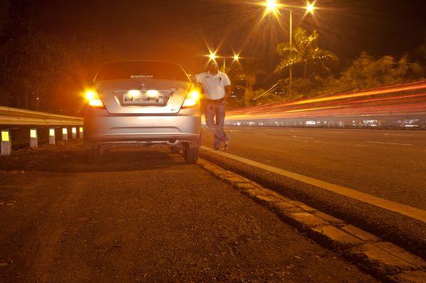 Night Road Cars photo