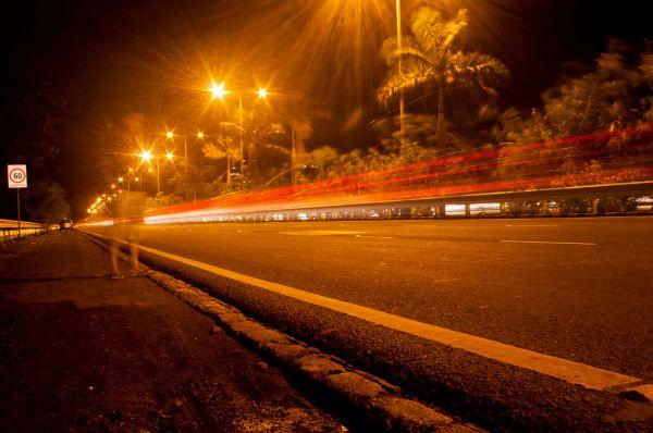 Night Street Lights photo