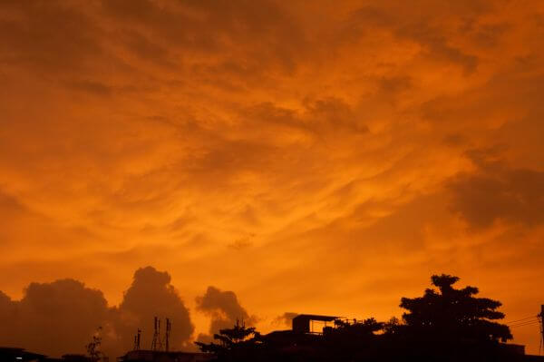 Sky Yellow Orange photo