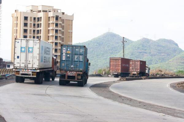 Trucks Transport Goods photo