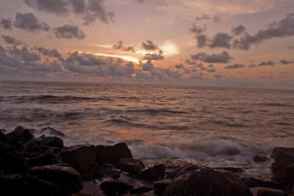 Rocks Sea Waves photo