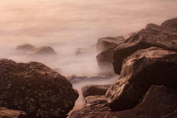 Rocks Sea photo
