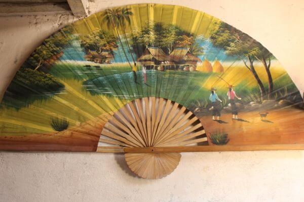 Art Hand Fan Chinese Japanese photo