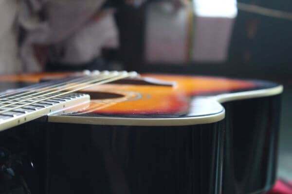 Guitar Side View Music photo