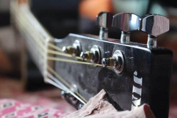 Guitar Strings Close photo