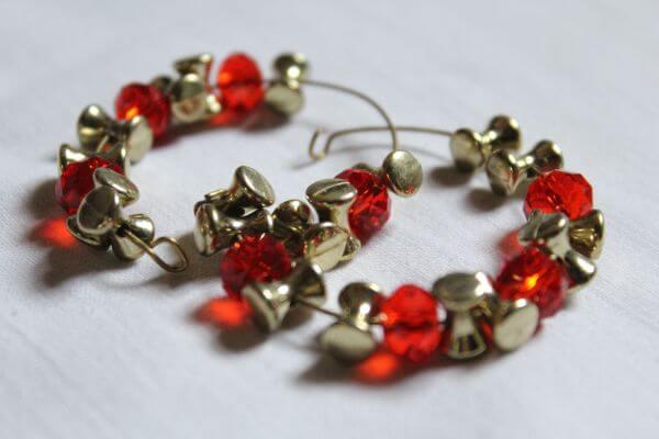 Jewelry Bracelet Red Stones photo