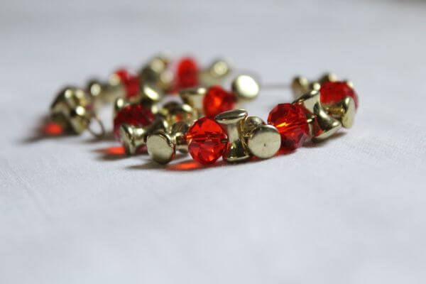 Jewelry Red Stones Bracelet photo