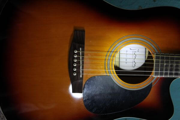 Music Instrument Guitar Close Up photo