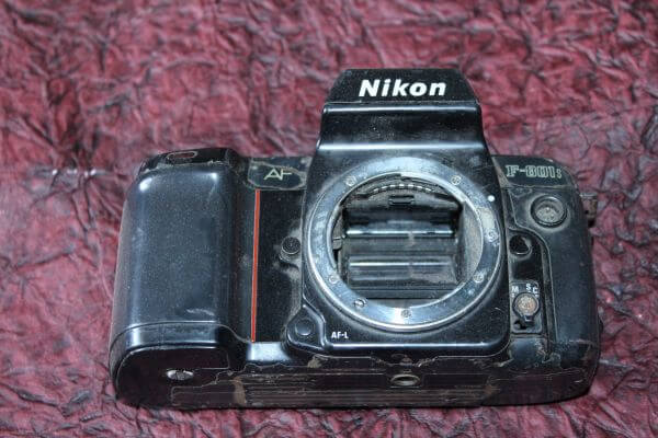 Old Camera Without Lens photo