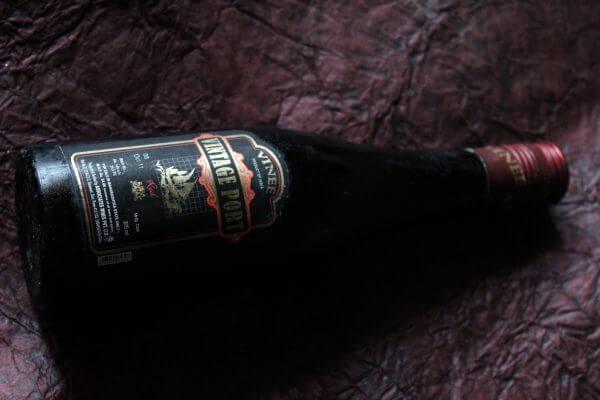 Old Wine Bottle photo
