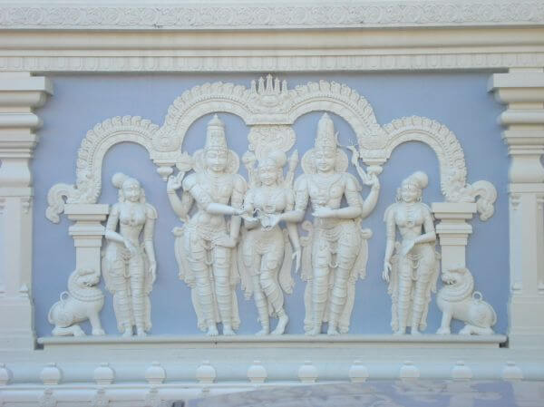 Hindu Gods Temple photo