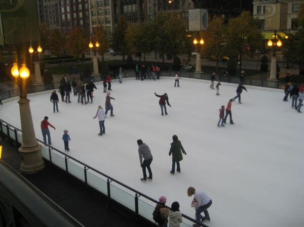 Ice Rink Skating photo