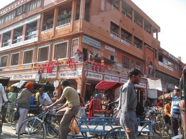Indian Market Jaipur India photo