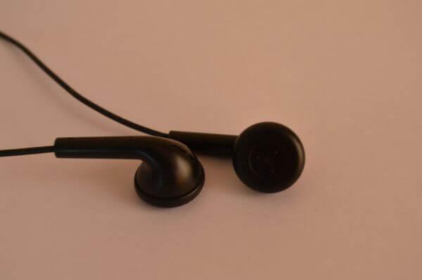 Black Headphones photo