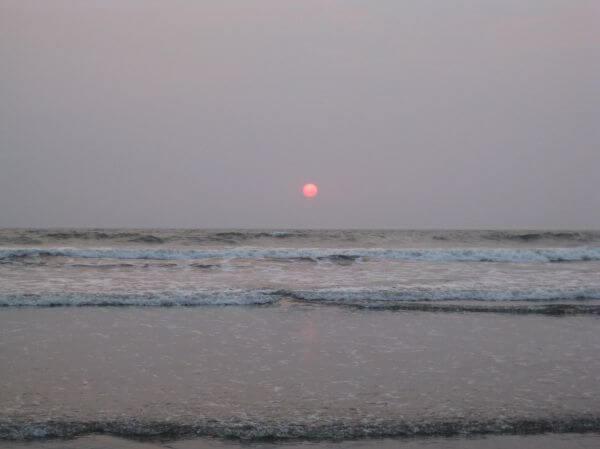Sea Shore Beach Sunset photo