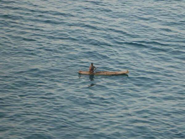 Fisherman On Boat photo