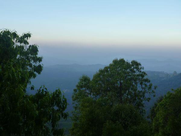 Hilly Landscape Scenery photo