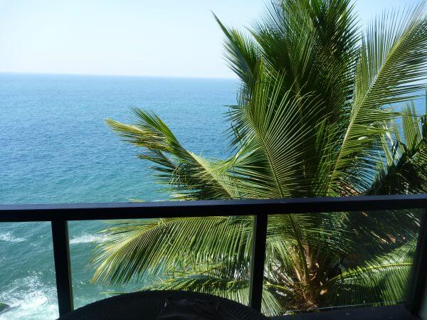 Balcony Sea View Palms photo