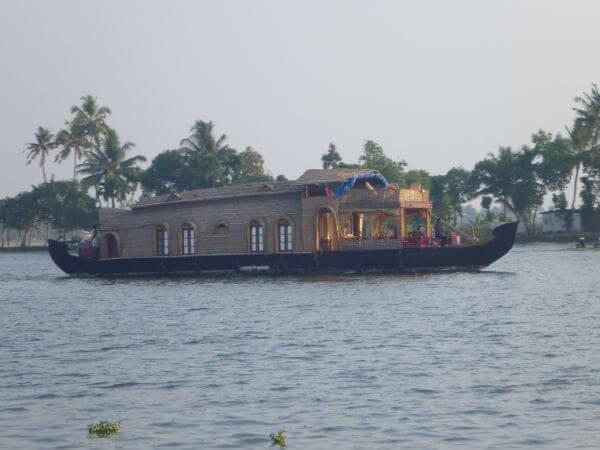 Houseboat Kerala Close View photo
