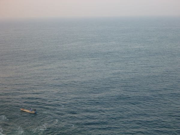 Small Boat Fisherman Ocean photo