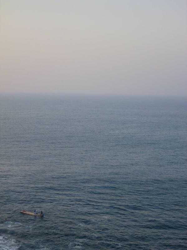 Small Boat Ocean photo