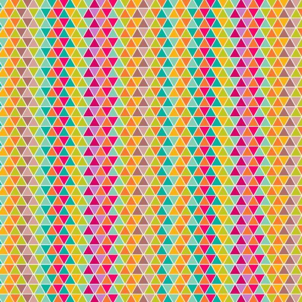 colorful triangular pattern design vector