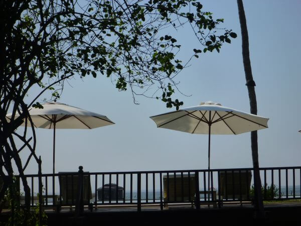 Umbrella Beach Side Sea photo