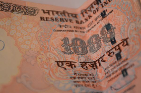 Thousand Rupee Note India photo