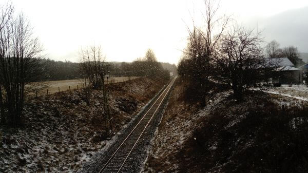 Railroad Snow photo