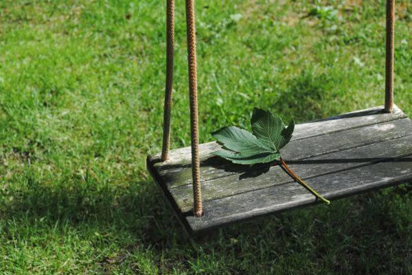Garden swing photo