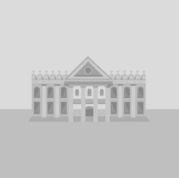 Elegant grey building vector
