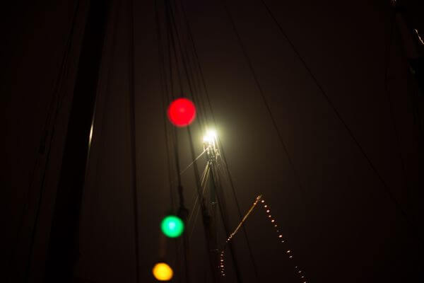 Colored bulbs photo